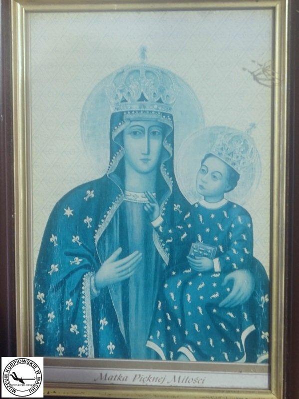 Matka Pięknej Miłości - oleodruk