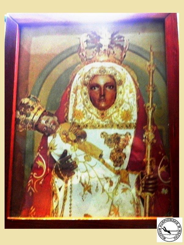 Czarna Madonna z Candelaria (Teneryfa) - oleodru