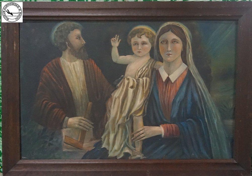 Święta Rodzina - obraz olejny na płótnie