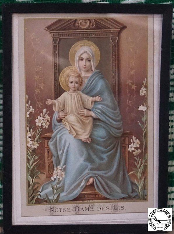 Notre-Dame des Lis - oleodruk