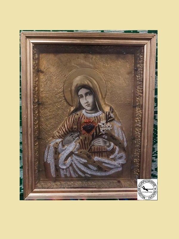 Gorejące (Nipokalane) Serce Maryi