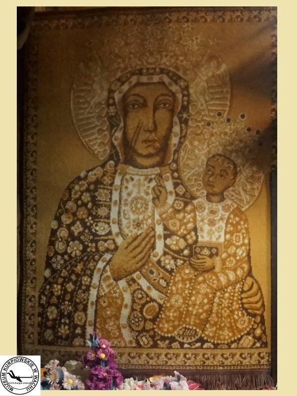 Matka Boska Częstochowska - gobelin