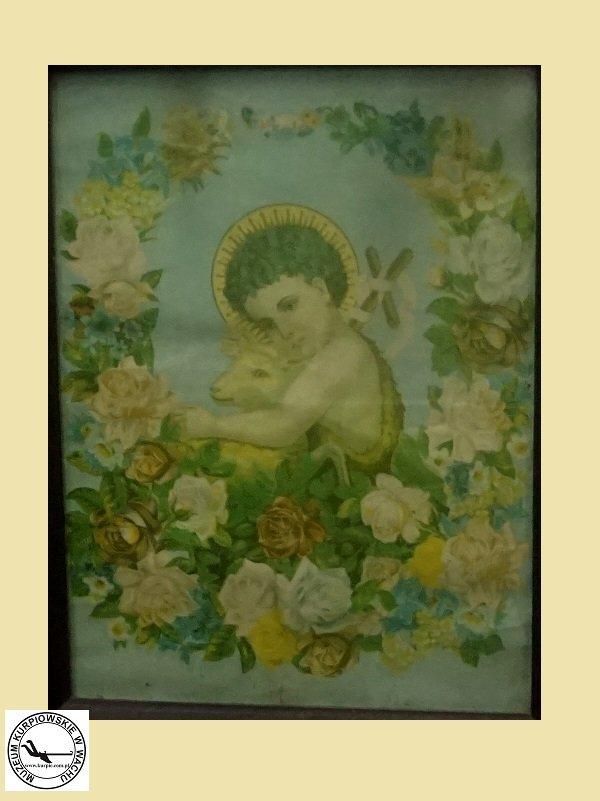 Święty Jan Chrzciciel - oleodruk
