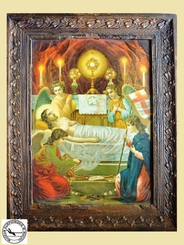 Święty grób Jezusa - oleodruk