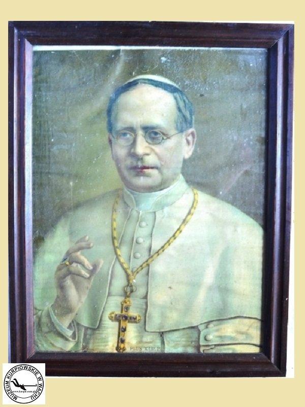 Pius XI - oleodruk