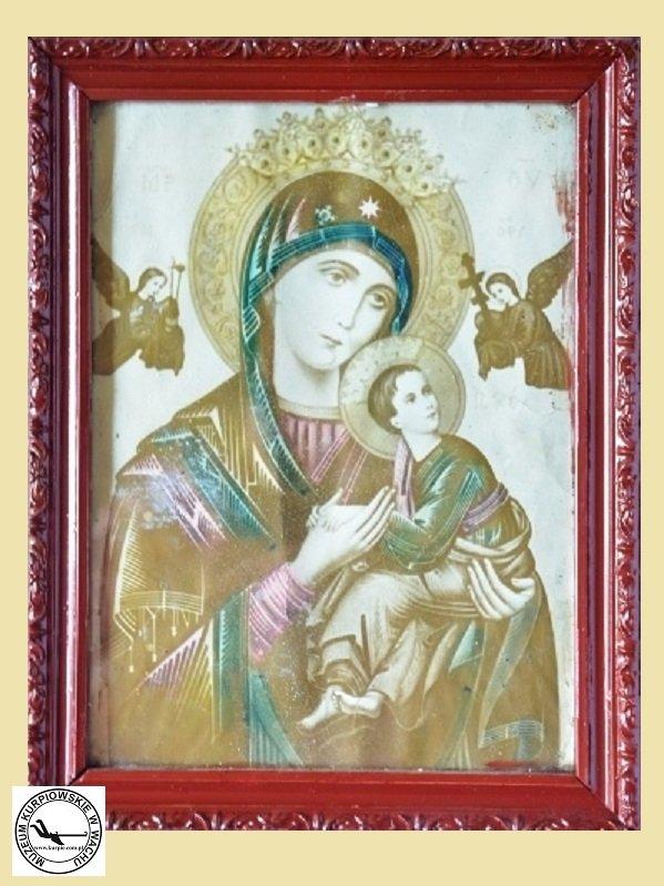 Matka Boża Nieustającej Pomocy - oleodruk