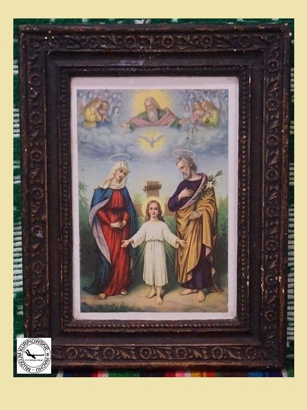 Święta Rodzina - oleodruk