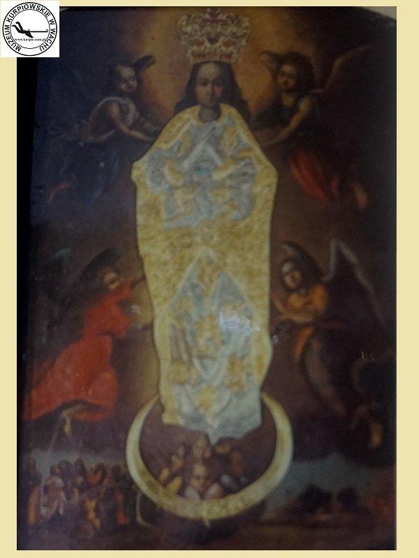 Matka Boża Płonkowska - oleodruk