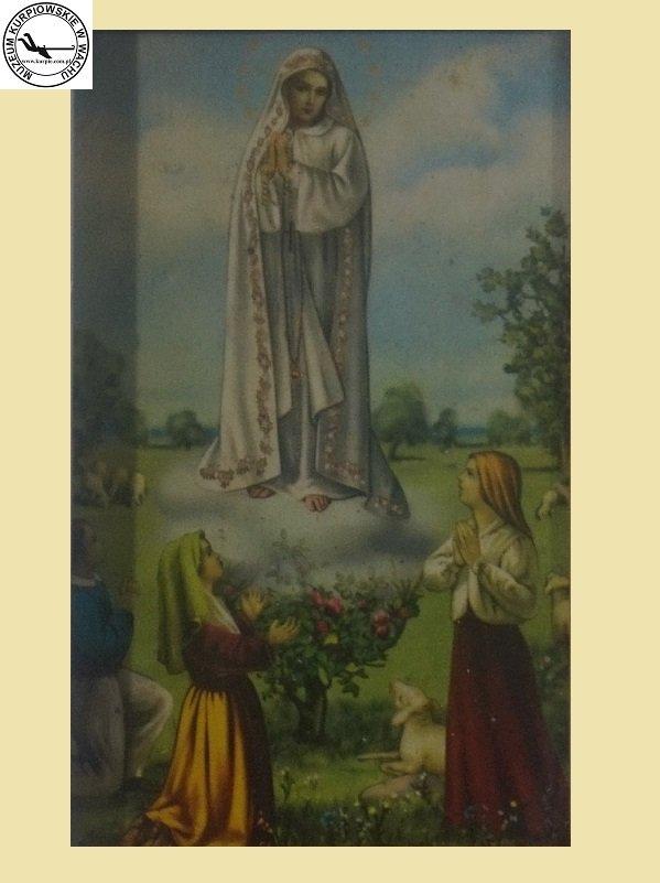 Matka Boża z Lourdes - oleodruk