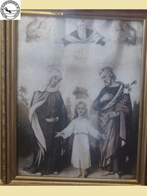 Świeta Rodzina - oleodruk