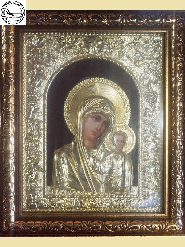 Matka Boża Kazańska - srebrna