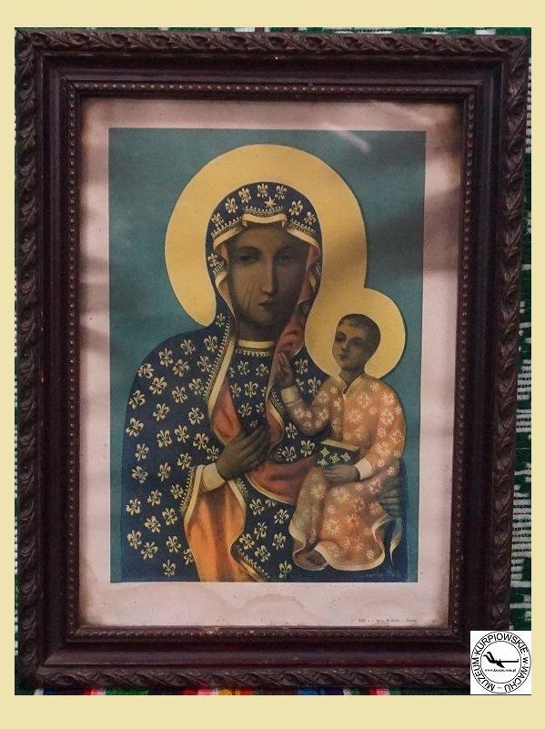 Matka Boska Częstochowska - oleodruk