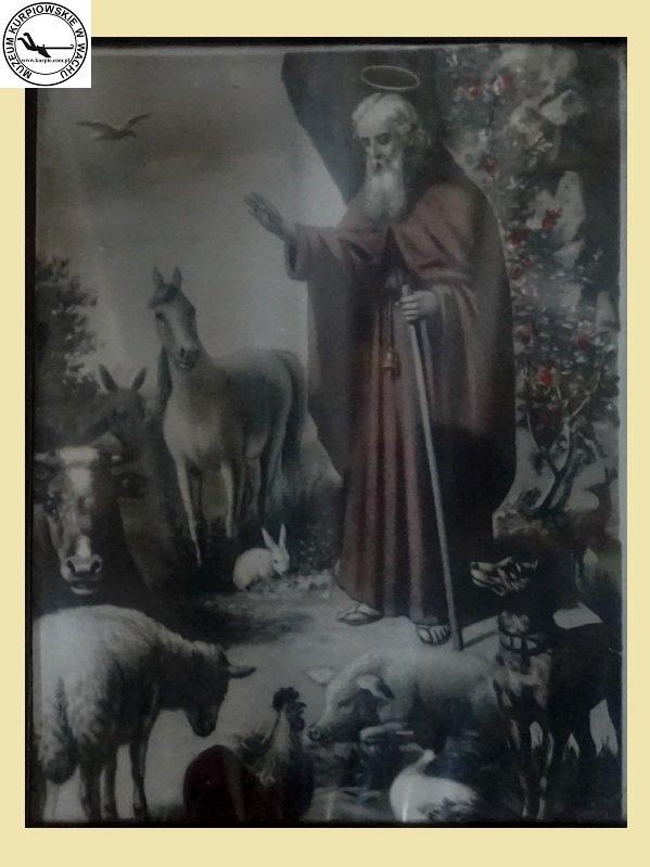 Święty Franciszek  - oleodruk