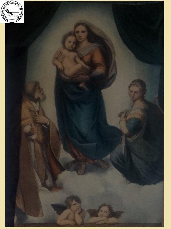 Zaręczyny Józefa i Marii - oleodruk