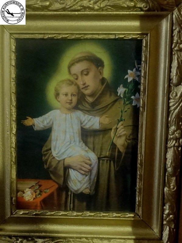 Święty Antoni - oleodruk