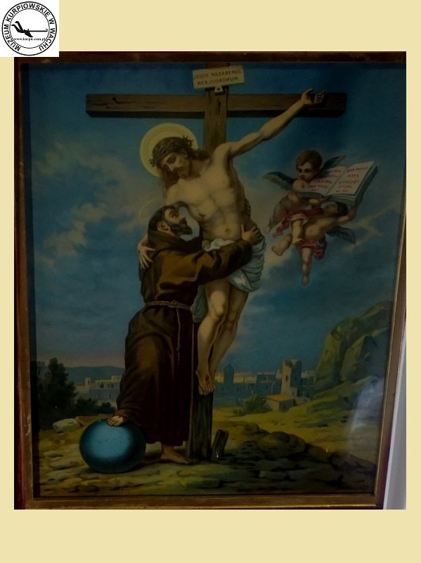 Stygmaty Świętego Franciszka - oleodruk