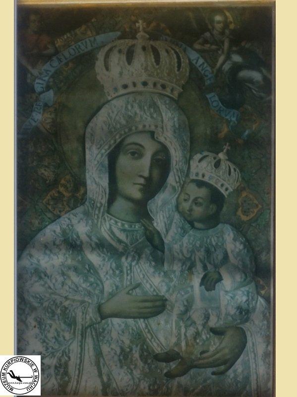 Matka Boża Gietrzwałdzka - olejodruk
