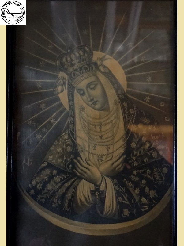 Matka Boża Ostrobramska - oleodruk