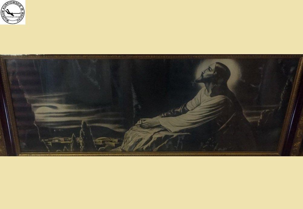 Jezus w ogrójcu - oleodruk