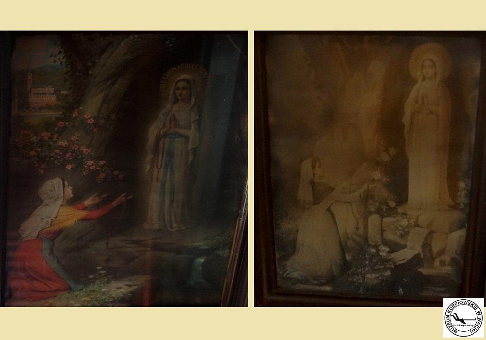 Matka Boża z Lourdes - oleodruki