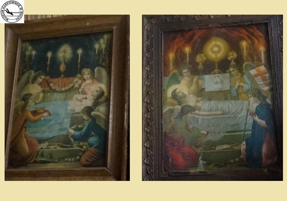 Zaśnięcie Matki Bożej i Święty grób Jezusa - oleodruki