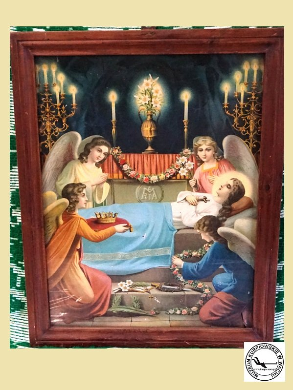 Zaśnięcie Matki Boskiej - oleodruk