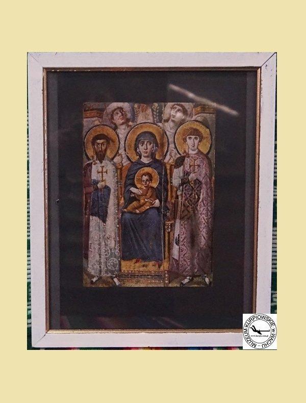 Dziewica z dzieciątkiem pomiędzy Świętymi Teodorem i Jerzym