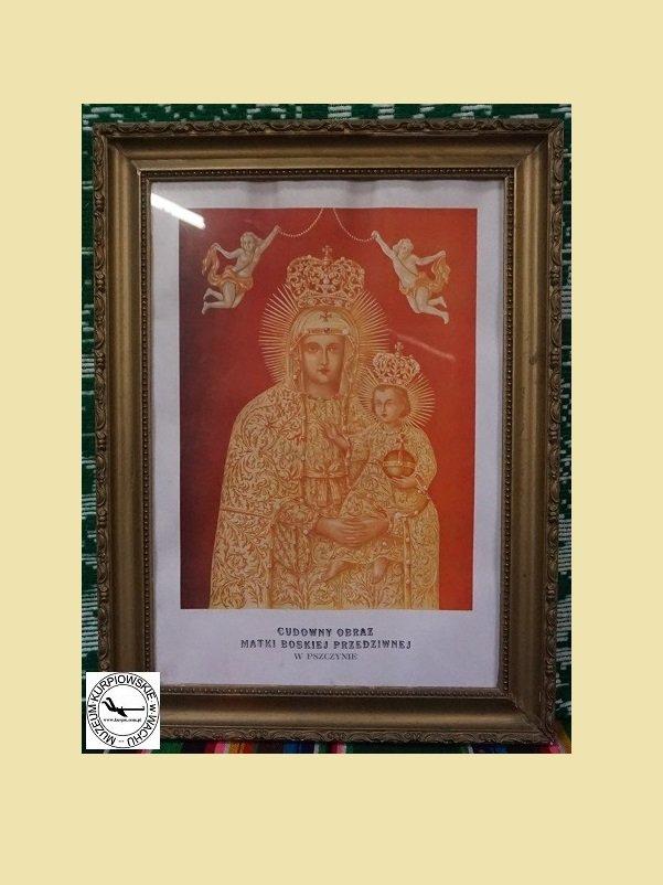 Cudowny obraz Matki Boskiej Przedziwnej - oleodruk