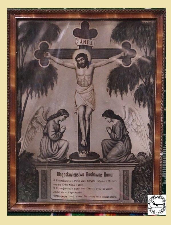 Błogosławieństwo Duchowe Domu - oleodruk