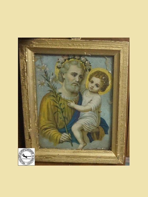 Święty Józef - oleodruk