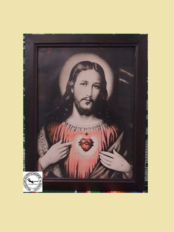 Najświętsze Serce Pana Jezusa - oleodruk