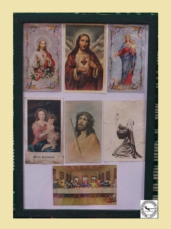 Obrazk święte tzw. kolędnicze