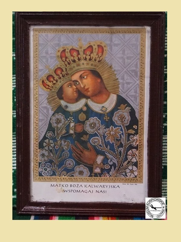 Matka Boża Kalwaryjska - oleodruk