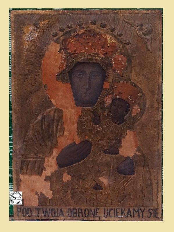 Matka Boska Częstochowska - płaskorzeźba