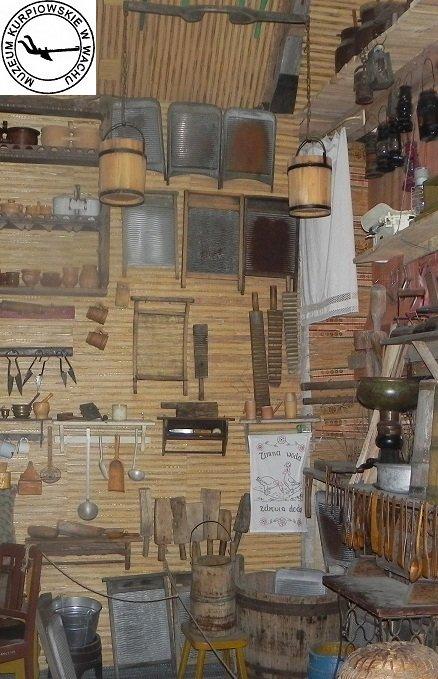 ekspozycja w Muzeum Kurpiowskim w Wachu