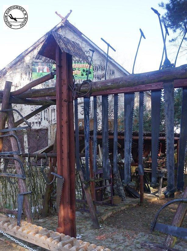 Trak i piły tartaczne - żelaza trackie i lada do załadunku