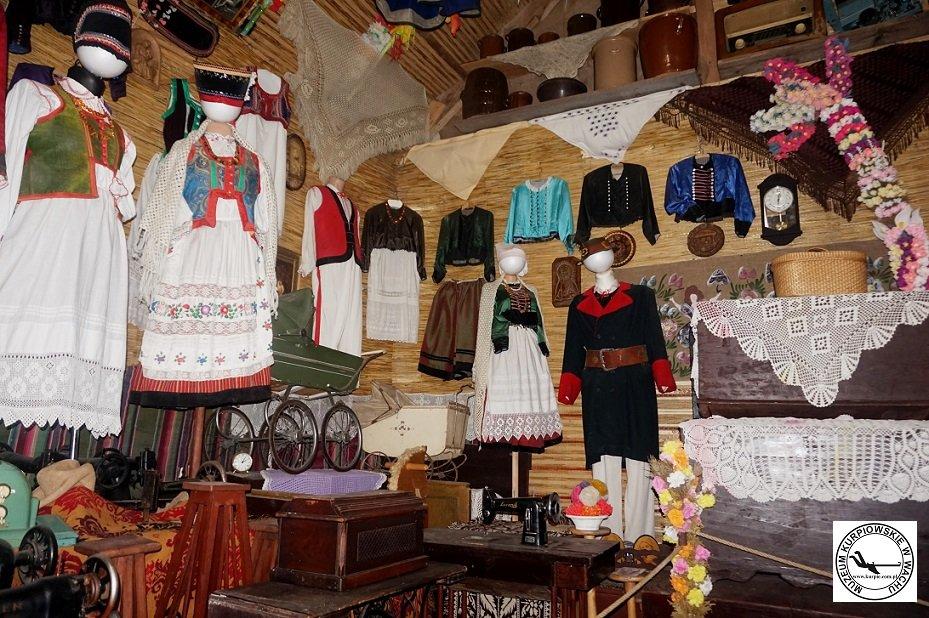 Strój Kurpiowski Muzeum Kurpiowskie w Wachu