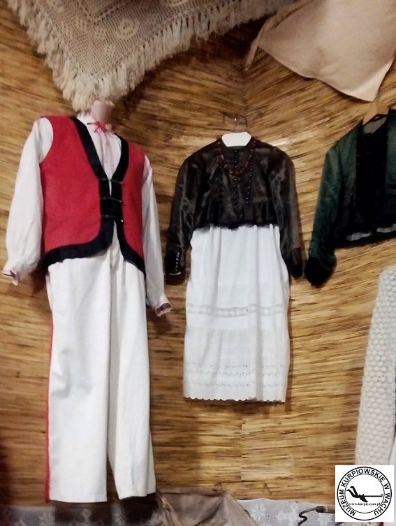 Strój Kurpiowski Muzeum Kurpiowskie w Wachu Muzeum Kurpiowskie w Wachu