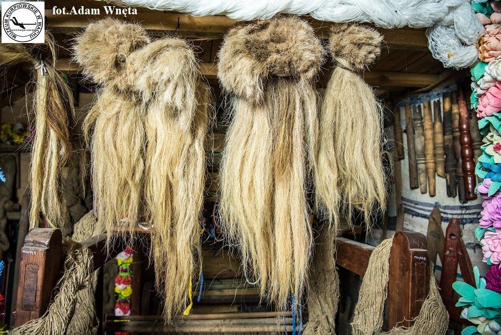 Koński włos na włosiankę Muzeum Kurpiowskie w Wachu