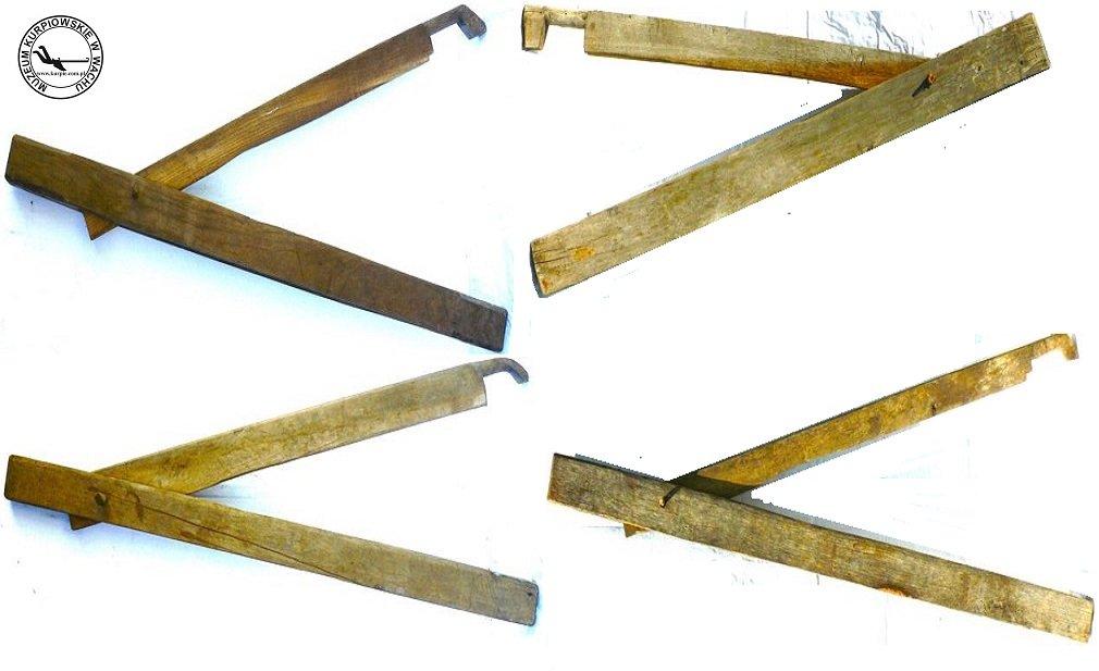 Cierlice do lnu i konopi Muzeum Kurpiowskie w Wachu